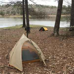 Tent Campground at Tishomingo State Park
