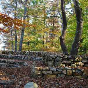 northwest Alabama - Wichahpi Commemorative Stone Wall