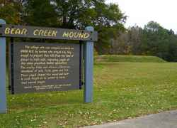 Mississippi - Bear Creek Mound - milepost 308.8