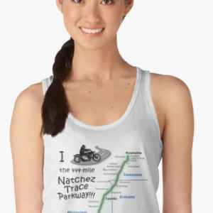 I Rode the Natchez Trace - Tank Top