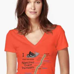 I Rode the Natchez Trace - V Neck T-Shirt