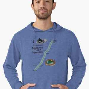I Rode the Natchez Trace - Lightweight Hoodie