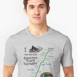 I Rode the Natchez Trace - Unisex T-Shirt