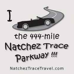 Natchez Trace Parkway - Convertible Sticker