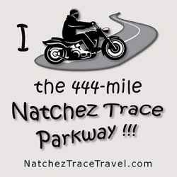 Natchez Trace Parkway - Motorcycle Sticker