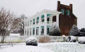 Carnton in the winter - Franklin, Tennessee