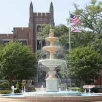 Laura Harrison Fountain and Plaza - University of North Alabama