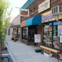 Downtown Linden Streetscape - Linden, Tennessee