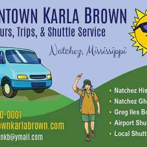Downtown Karla Brown Tours, Trips & Shuttle Service - Natchez, Mississippi