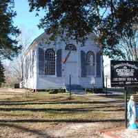 Immaculate Conception Catholic Church, circa 1855 - Raymond, MS
