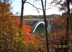 Double Arch Bridge Natchez Trace Parkway