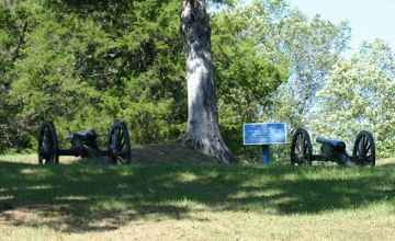 Just a few of the cannons.- Vicksburg National Military Park