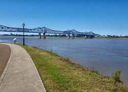 Mississippi River - Natchez, Mississippi