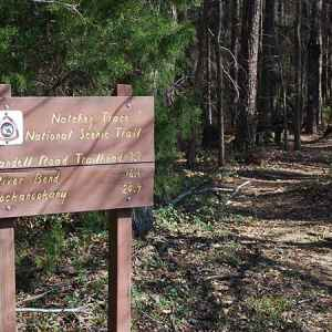 West Florida Boundary - Yockanookany Trail - Natchez Trace National Scenic Trail