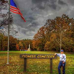 Pioneer Cemetery at the Meriwether Lewis Death & Burial Site - Natchez Trace Parkway