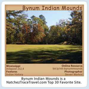 Bynum Indian Mounds